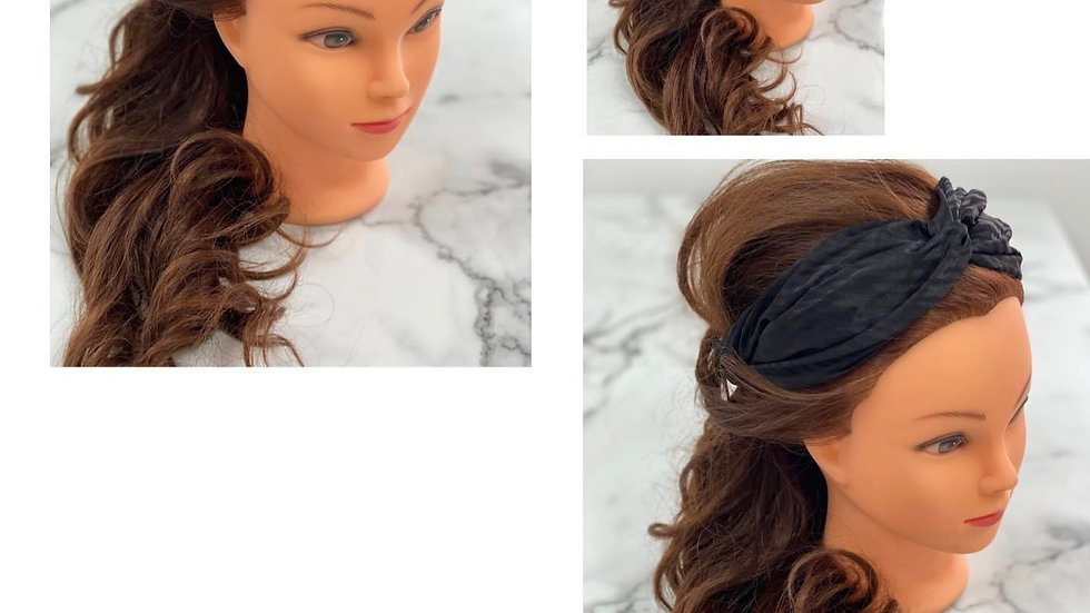 Large Fabric Head Band