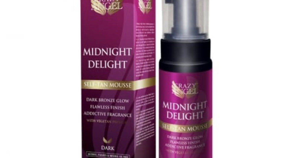 Crazy Angel Midnight Delighted Self Tan Mouse 200ml