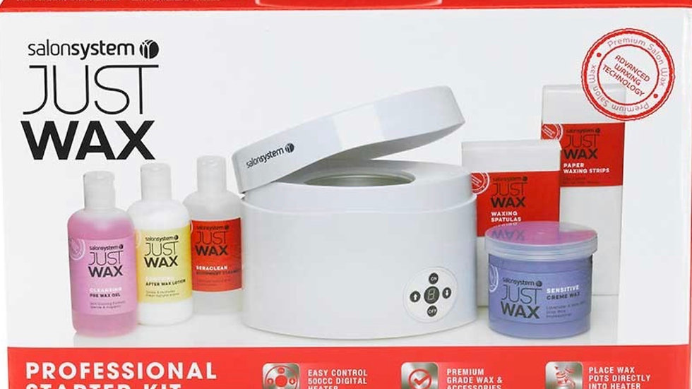 Just Wax Professional Waxing Starter Kit