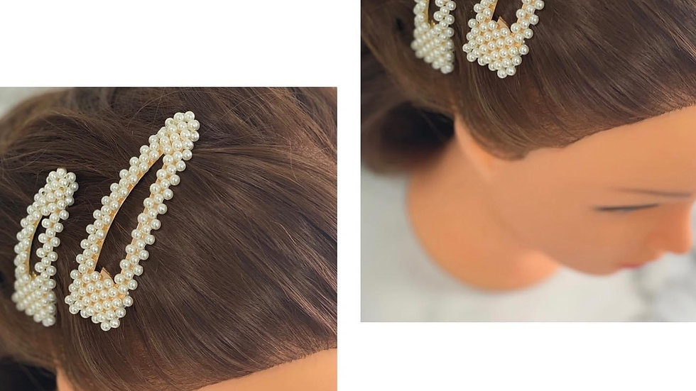 Extra Large Pearl Hair Clip