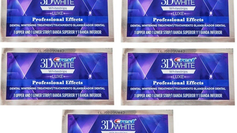 Crest 3D Luxe Professional Effects Teeth Whitening Strips