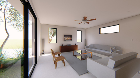 Designed TV Room