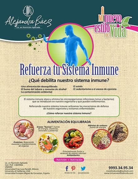 Refuerza tu sistema inmune
