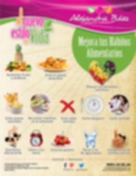 Mejora tus hábitos alimentarios