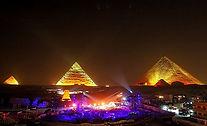 Giza Pyramids sound and light show_Travel Egypt Tours