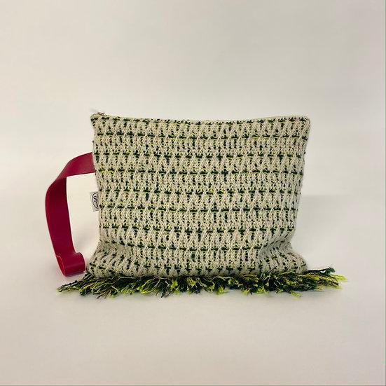 Gronia (Cactus)Clutch With Tassels L23 x W19cm