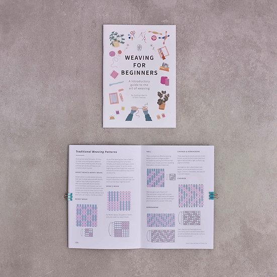 Weaving for Beginners Instruction E-Booklet
