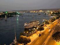 Aswan at night_Travel Egypt Tours