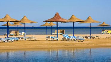 El Gouna beach_Travel Egypt Tours