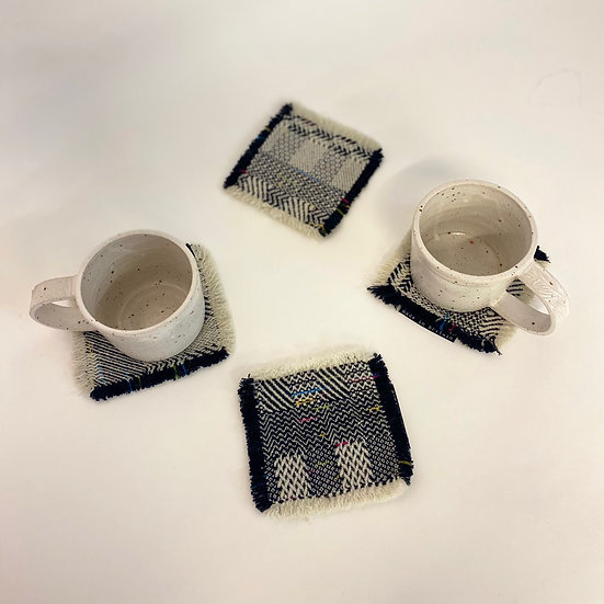 Set of 4 Woven Coasters