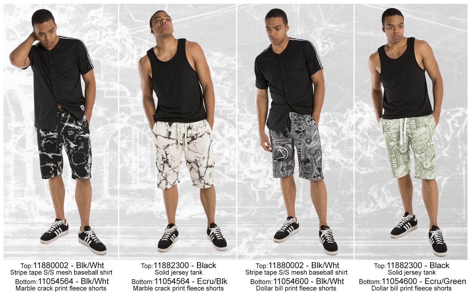 Tops-Shorts-2300-4564-4600