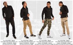 Tops-Woven jogger-2764-5533-5509