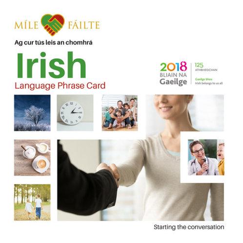 Leabhrán Frasaí Gaeilge | Irish Phrase Booklet