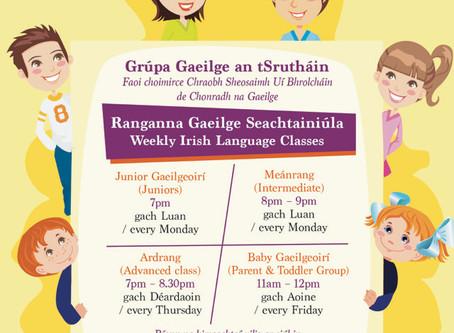 Grúpa Gaeilge an tSrutháin