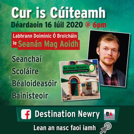 Cur is Cúiteamh le Seanán Mag Aoidh