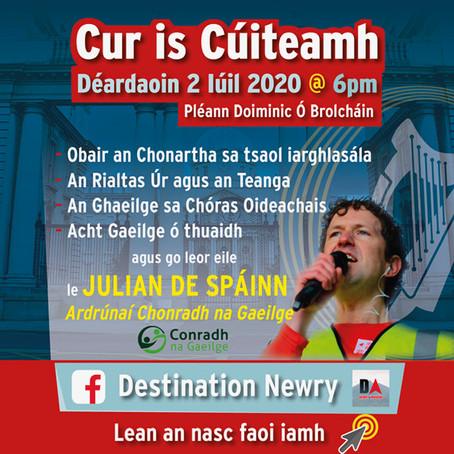 Cur is Cúiteamh le Julian de Spáinn
