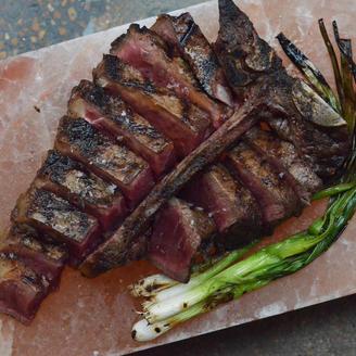 """""""Saltaged"""" Porterhouse Steak for 2 SR 350"""