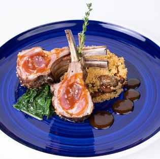 GRILLED BABY LAMB CHOPS - SR110