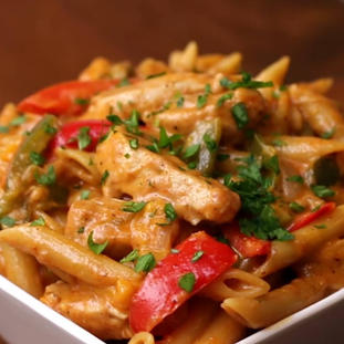 PENNE WITH GRILLED CHICKEN SR85