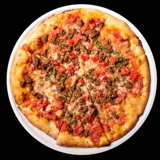 Morrocan Lamb Sasuage Pizza SR 75