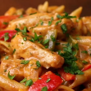 PENNE WITH GRILLED CHICKEN 85 SR