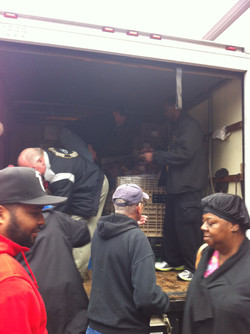 UAW882 Dec 2014 Turkey Give Away