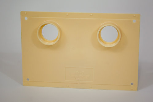 Double Hole Minisuckler Back Plate
