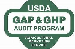 Passed! USDA GAP/GHP audit verification
