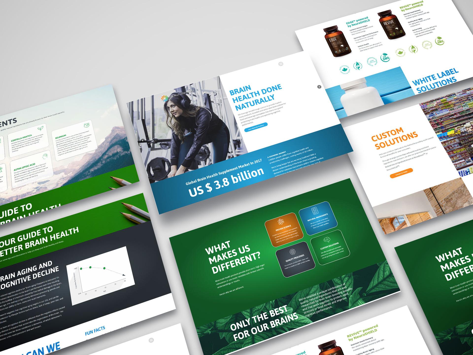 SLS Corp Website