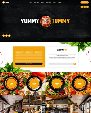 Yummy - Webflow HTML website template.pn