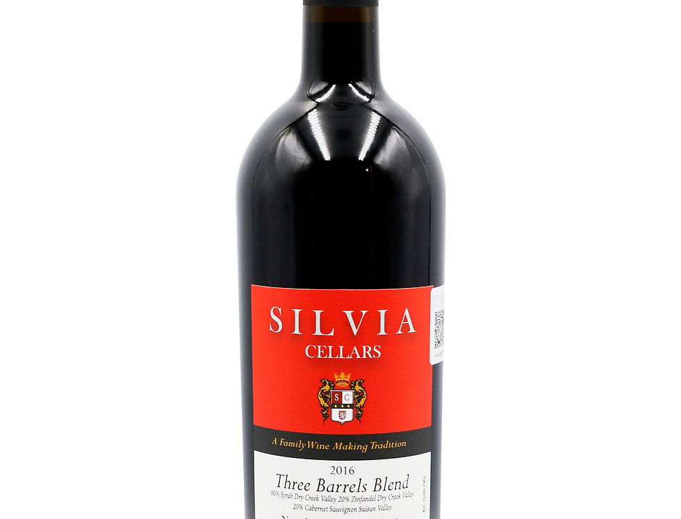 Silvia Cellars Three Barrels