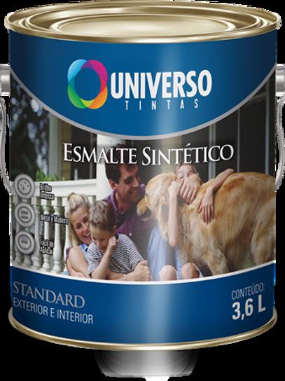 ESMALTE SINTÉTICO STD BRILHANTE PRETO 3,6L