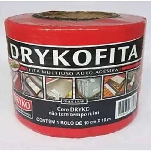 Fita Adesiva Multi Uso Asfáltica Drykofita 10cmx10mt