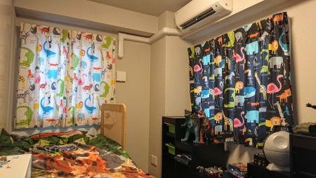 ハーレークイーンカーテン