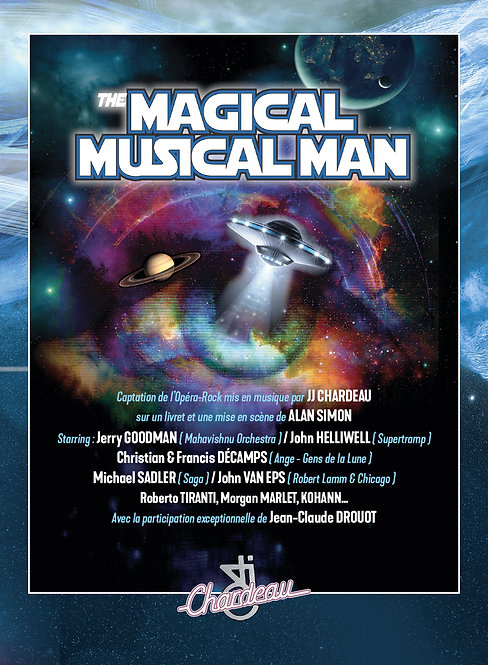JJ CHARDEAU - The Magical Musical Man (DVD)