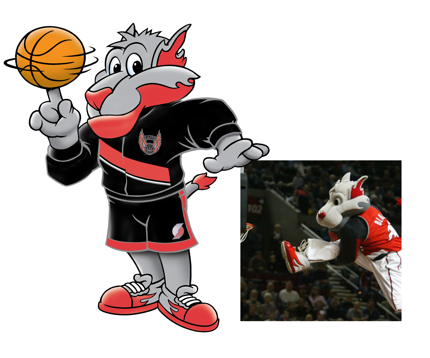 Blaze - NBA Portland Trailblazers