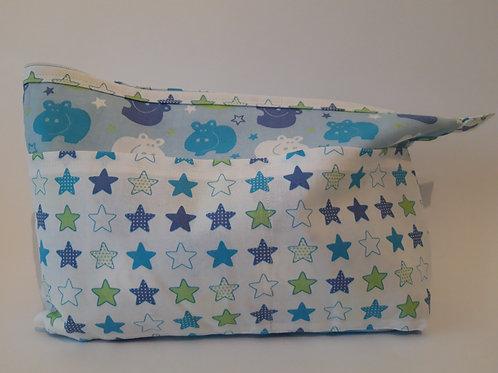 Windelbag h'blau mit Sternen