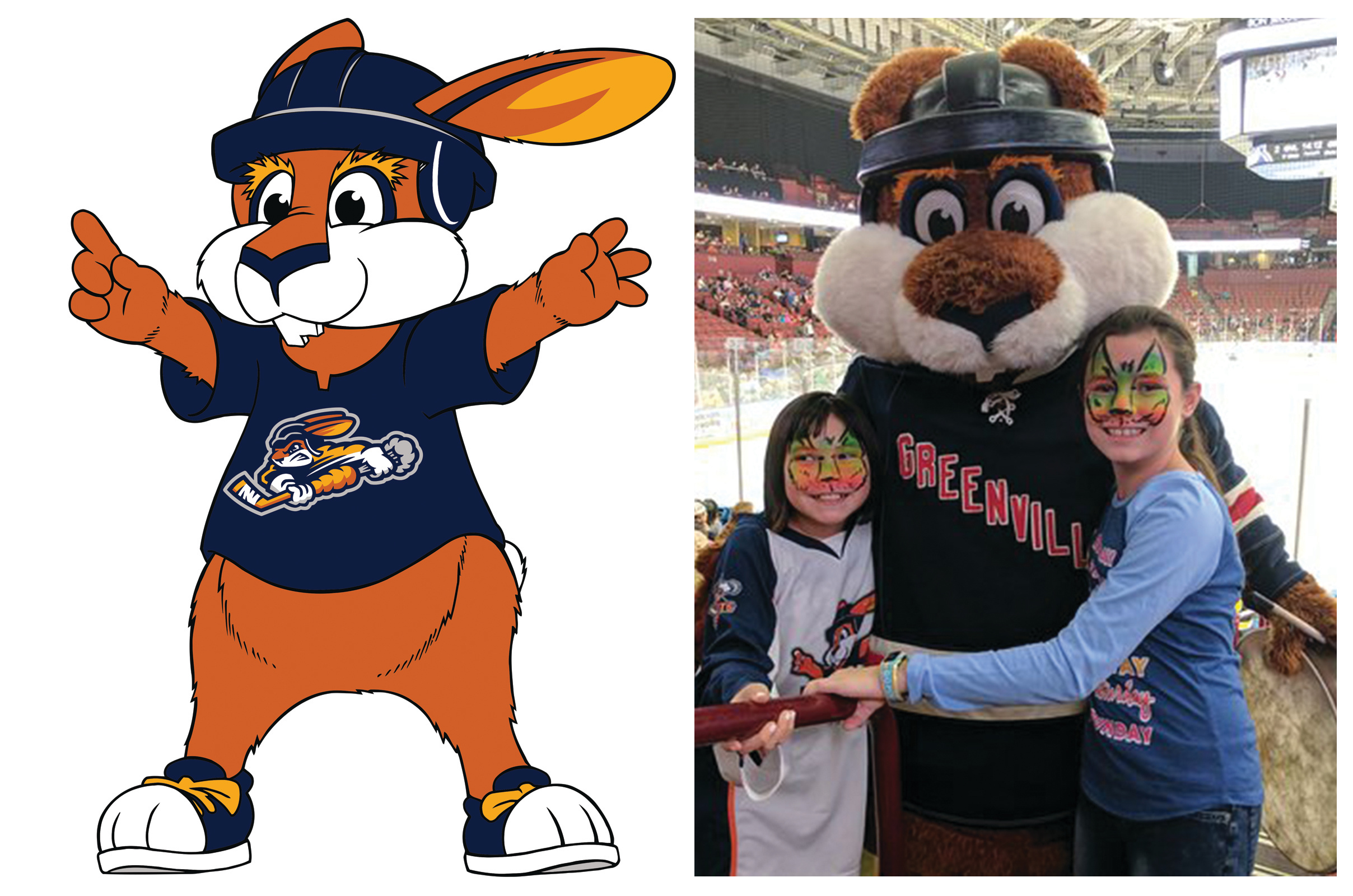 Swamp Rabbit - ECHL Greenville