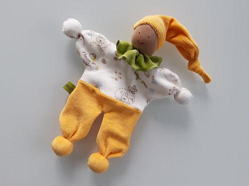 Schmusepüppchen gross - gelb