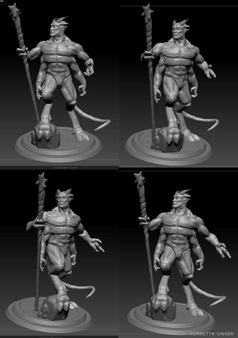 Zbrush Sculpt Test