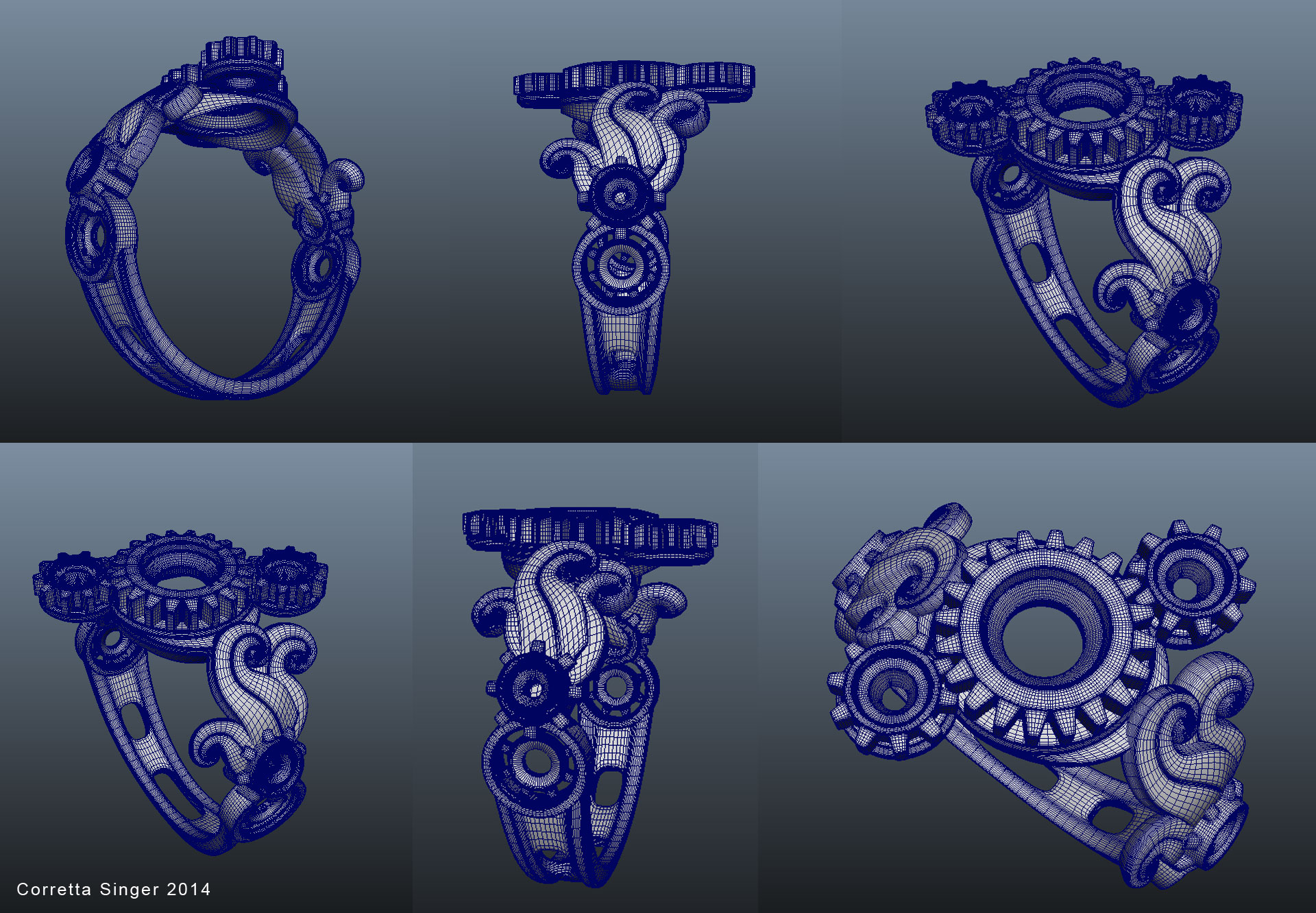 tri_gear_mech_ring_wireframe