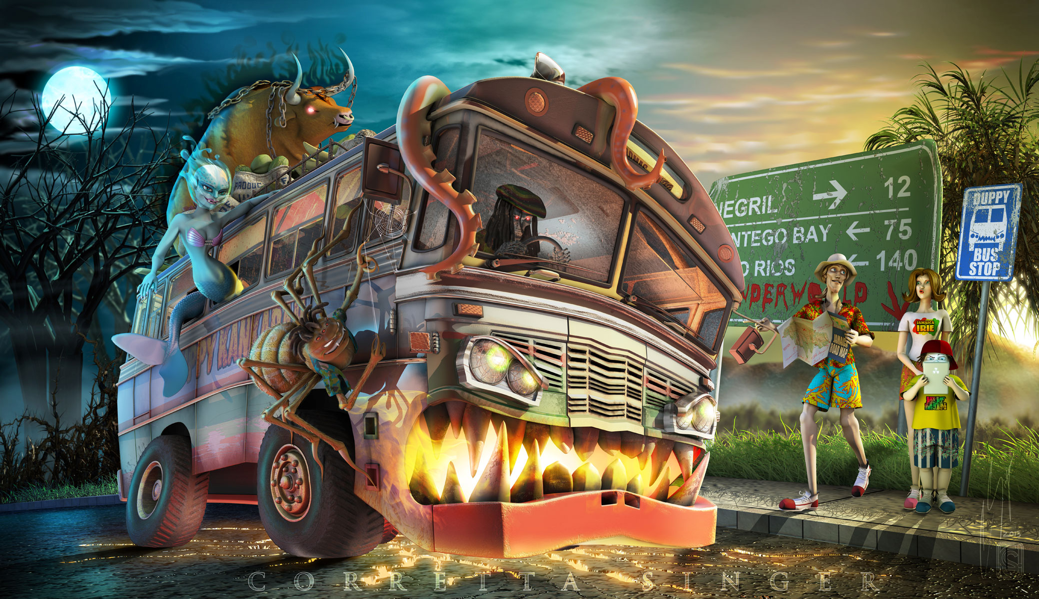 "Monster ""Jolly Bus"""