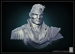 King's Guard Poster Bust