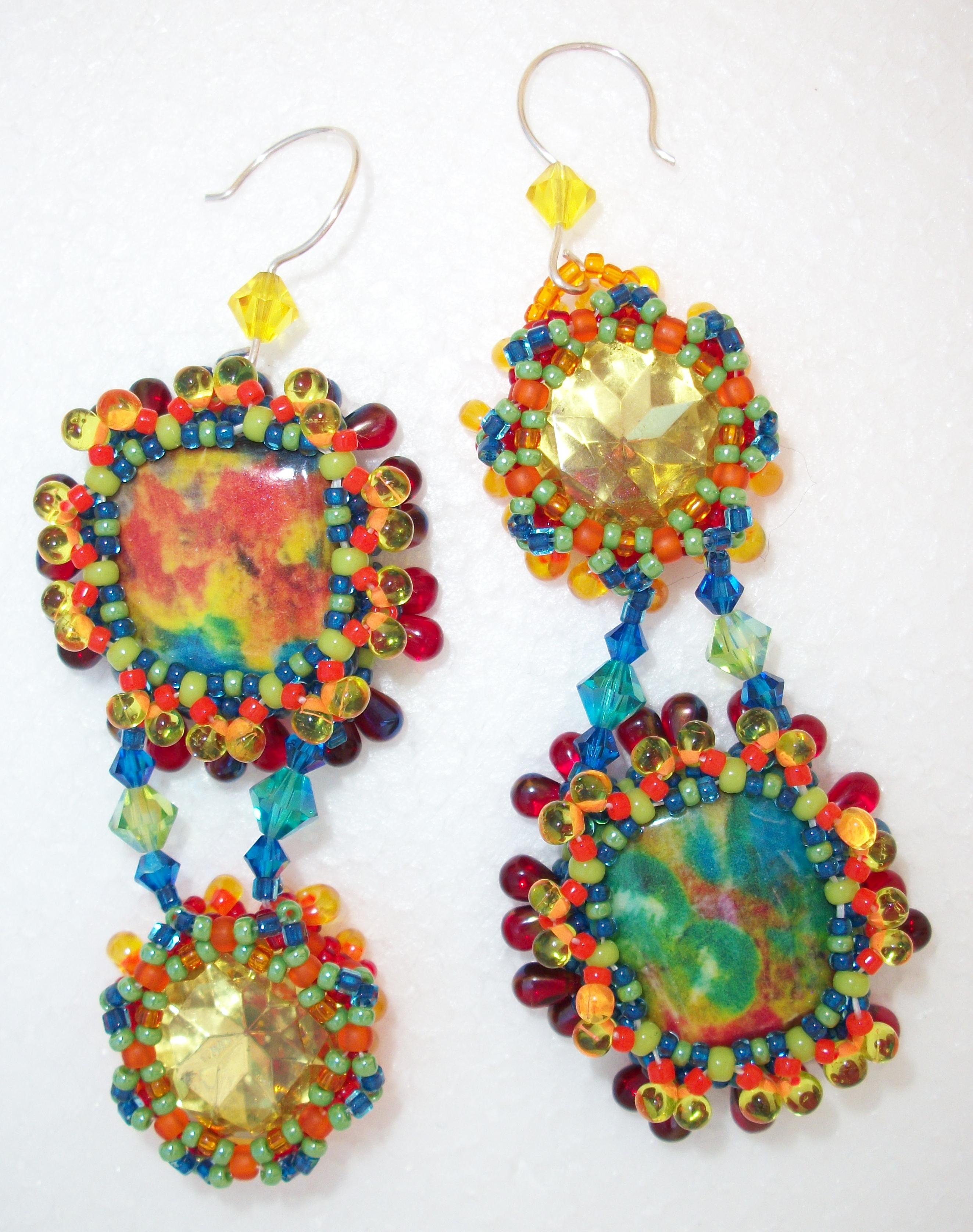 Lemon Kickers Earrings