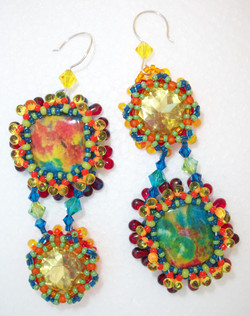 Lemon Kickers Earrings