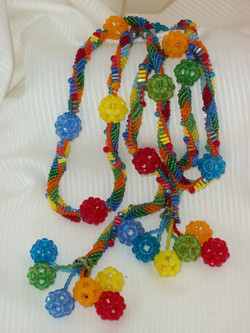 Mardi Gras Dodecahedrons