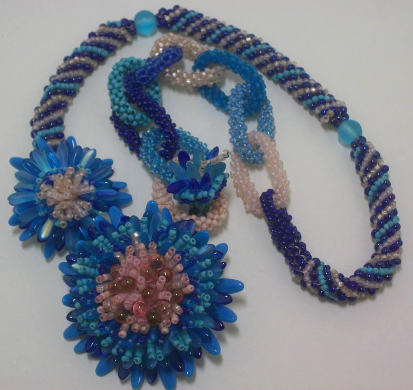 Amparo & Turquoise Flowers