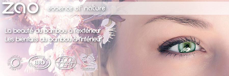 Zao make up - maquillage bio / éthique