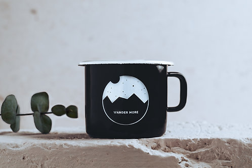 Enamel Mug // WANDER MORE