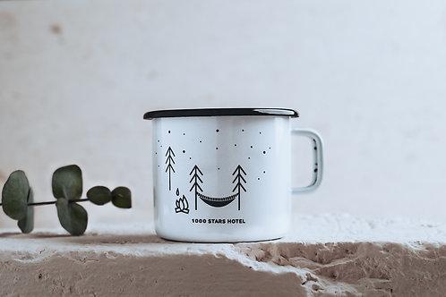 Enamel Mug // 1000 STARS HOTEL